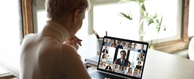 We can meet effectively from home using videoconferencing technology